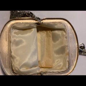 Whiting & Davis Bags - Vintage 1940s Gold Mesh Whiting and Davis wristlet